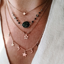 Collier Constellation or rose